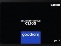 "SSD жесткий диск SATA2.5"" 240GB CL100 SSDPR-CL100-240-G3 GOODRAM"